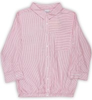 Lee Cooper Girls Striped Casual Shirt
