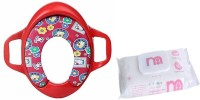 Mothercare Baby Potty Seat With MC Baby Wipes 72 Pcs(Red)