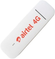 Airtel 3372 ALL SIM SUPPORT 4G DONGLE Data Card(White)