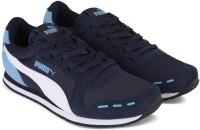 Puma Boys & Girls Lace Running Shoes(Dark Blue)