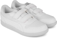 Puma Boys & Girls Velcro Sneakers(White)