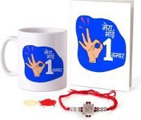 Tied Ribbons Designer Rakhi  Set(1 Rakhi Set)