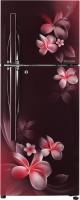 LG 260 L Frost Free Double Door 4 Star Refrigerator(Scarlet Plumeria, GL-T292RSPN)   Refrigerator  (LG)