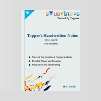 IES / GATE (CIVIL Eng. ) - Toppers Handwritten Notes SET OF 12 BOOKS OF ALL SUBJECTS(YES, STUDYSTEPS)