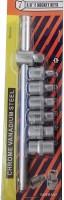 Continental 7 Pcs 3/8 in Drive Impact E-Socket Set E6, E8, E10, E11, E12, E14 (3/8 TJT) Vehicle Tool Kit