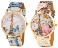 just like New Stylish Leather Strap for lovers watches Watch - For Girls