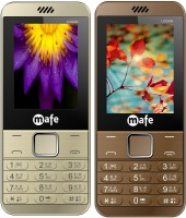 Mafe Logan Combo of Two Mobiles(Gold&Coffee)