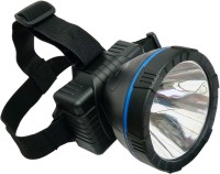 24 ENERGY 10W Adjustable Headlamp Rechargeable Torch(Black : Rechargeable)