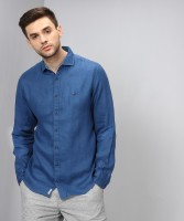 Tommy Hilfiger Men's Solid Casual Spread Shirt