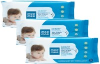 MeeMee Baby Wet Wipes Pack of 3(216 Pieces)