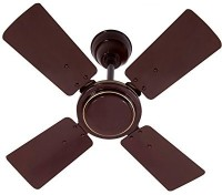 MinMAX 600 MM Activa Hi-Speed 600 mm 4 Blade Ceiling Fan(Brown, Pack of 1)