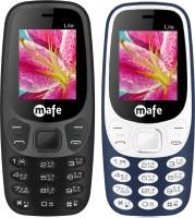 Mafe Lite Combo of Two Mobiles(Black, Blue&White)