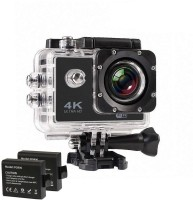 Sofix 2018 4K WIFI Sports Action Camera 16 MP Ultra HD Waterproof DV Camcorder 170 Degree Wide Angle supports 64 GB Card Sports and Action Camera(Black, 12 MP)