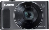 Canon Powershot SX620 HS(20.2 MP, 25x Zoom Optical Zoom, 25 Digital Zoom, Black)