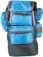 TT Bags Travelling Hiking & Camping Shoulder backpack - Blue & Grey Rucksack - 25 L(Blue)