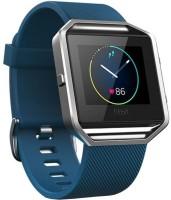 FITBIT Blaze Smartwatch(Blue Strap, Large)
