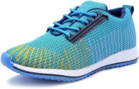 Deals4you Running Shoes For Men(Blue, Yellow)