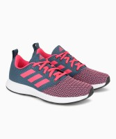ADIDAS JEISE W Running Shoes For Women(Blue, Pink)
