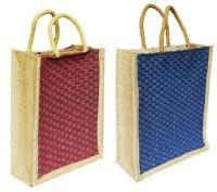 ART ME Set of 2, 14x16 inch Waterproof Multipurpose Bag(Red, Blue, 15 L)