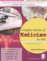 Complete Review of Medicine for NBE - PGMEE(ENGLISH, Paperback, Deepak Marwah)