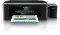 Epson L-405 Multi-function Wireless Printer(Black, Refillable Ink Tank)