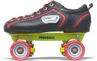 Proskate Rockstar QSS 84 Roller Skate Combo Quad Roller Skates - Size J9-S12 UK(Red) Flipkart deals