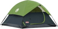 Coleman Sundome 2 person Tent - For Trekking, Family trip, Camping, Adventure trip(Green)