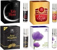 Arochem Aro PDS Aro cigar Aro magnet Kala Bhoot Combo Floral Attar(Floral)