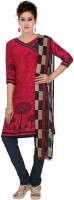 FabTag - Fashion Valley Synthetic Printed Salwar Suit Dupatta Material(Un-stitched)