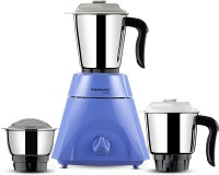Butterfly Present Grand plus 750 W with Stylish & Shockproof ABS body, 3 Stainless steel Jars and 3-speed control knob with whip 750 Juicer Mixer Grinder(Violet, 3 Jars)