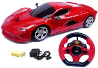 Johnnie Boy ferrari style rechargable remote control toy for kids (multi color)(Multicolor)