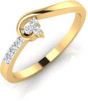 IskiUski Diamond Engagement Ring 18kt Diamond Yellow Gold ring