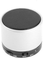 ELECTRON Mini S10 LED Light Enabled White Colour Speaker with TF Micro SD Memory Cards Supports All Android and Apple Iphone Ios Smartphones Tablets Laptops Devices 3 Bluetooth Speaker(White, 4.1 Channel)