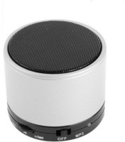 ELECTRON Mini S10 LED Light Enabled Silver Colour Speaker with TF Micro SD Memory Cards Supports All Android and Apple Iphone Ios Smartphones Tablets Laptops Devices 3 Bluetooth Speaker(Silver, 4.1 Channel)