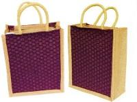 ART ME Set of 2, Jute Waterproof Multipurpose Bag(Maroon, 5 L)