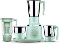 Butterfly Present Spectra with 4 Jars 750 W Green color Unbreakable polycarbonate outer shell and SS inner shell jars 750 Juicer Mixer Grinder(Green, 4 Jars)