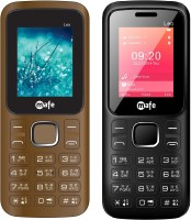 Mafe Leo Combo Of Two Mobiles(black&red, Coffee&black)