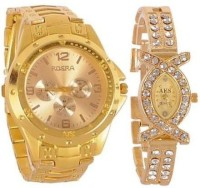 Rosra NR0253  Analog Watch For Couple