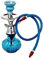 JaipurCrafts New And Improved Hookah With Flavour 12 inch Glass, Iron Hookah(Blue)