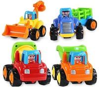 ODDEVEN Unbreakable Automobile Car Toy Set For Children Kids(Multicolor)