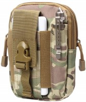 UNIGEAR Tactical Molle Pouch EDC Utility Gadget Belt Waist Bag, Camping Hiking Outdoor Gear Cell Phone Holster Holder EDC Molle Pouch(Multicolor)