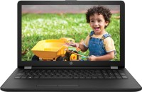 HP 15q Core i3 7th Gen - (4 GB/1 TB HDD/DOS) 15q-bu037TU Laptop(15.6 inch, Sparkling Black, 2.1 kg)   Laptop  (HP)