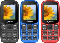 Snexian Fire 105 Combo of Three Mobiles(Red, Blue, Black)