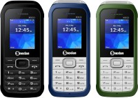 Snexian M3033 Combo of Three Mobiles(Black, Blue, Green)