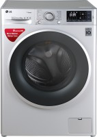 LG 9 kg Fully Automatic Front Load Washing Machine with In-built Heater Silver(FHT1409SWL)