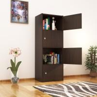 Nilkamal Cary Engineered Wood Free Standing Cabinet(Finish Color - Wenge)