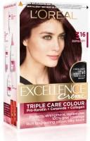 L'Oreal Paris Excellence Creme Hair Color(Burgundy 316)