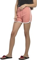 Alan Jones Solid Women's Pink Night Shorts