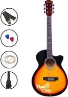Medellin MED-SUN-C Linden Wood Acoustic Guitar(Sun Burst)