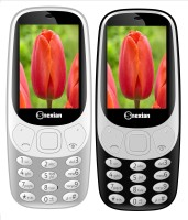 Snexian 3310 Carving Combo of Two Mobiles(Grey, Black)